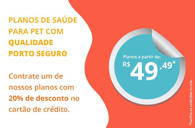 Planos de saúde para pet com qualidade Porto Seguro.